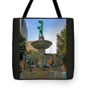 Depew Memorial Fountain Tote Bag