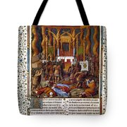 Deportation Of Jews Tote Bag