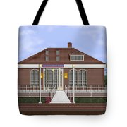 Depot Cafe And Club Car Lounge Tote Bag