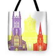 Derby Skyline Pop Tote Bag