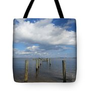 Derelict Dock Tote Bag