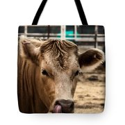 Derp Cow Tote Bag