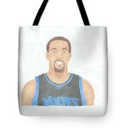 Derrick Williams Tote Bag