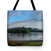 Derwentwater Spring Sunset Tote Bag