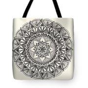 Des Tapestry Medallion Tote Bag