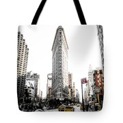Desaturated New York Tote Bag