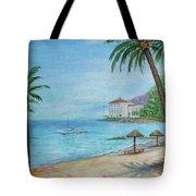 Descanso Beach, Catalina Tote Bag