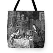 Descartes Teaching Queen Christina, 1649 Tote Bag