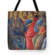 Descent Of The Holy Spirit Upon The Apostles Fragment 1311 Tote Bag