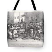 Descente Dans Les Ateliers De La Libert? De La Presse Tote Bag