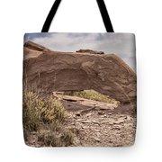 Desert Badlands Tote Bag