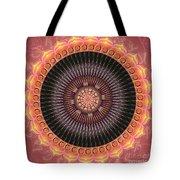 Desert Bloom Mandala Tote Bag