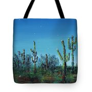 Desert Blue Tote Bag