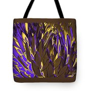 Desert Botanical 3 In Brown Tote Bag