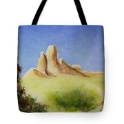 Desert Butte Tote Bag