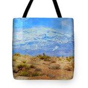 Desert Contrasts Tote Bag by Michelle Dallocchio
