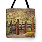 Desert Corral Tote Bag