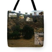 Desert Cottages Tote Bag