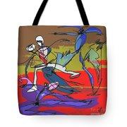 Desert Dance  Tote Bag