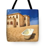 Desert Dreamscape 3 Tote Bag