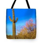 Desert Duo In Bloom Tote Bag