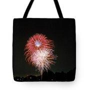 Desert Fireworks Tote Bag