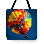 Desert Flying Viking - Hot Air Balloon Tote Bag by Ron Pate