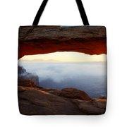 Desert Fog Tote Bag