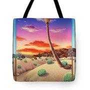 Desert Gazebo Tote Bag