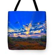 Desert Glory Tote Bag