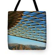 Desert Grid Tote Bag
