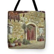 Desert House Tote Bag