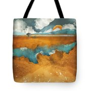 Desert Lake Tote Bag