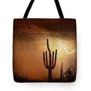 Desert Landscape Southwest Tote Bag