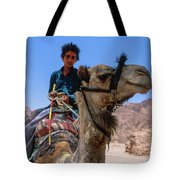 Desert Locomotion Tote Bag