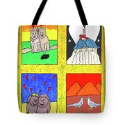 Desert Love Tote Bag