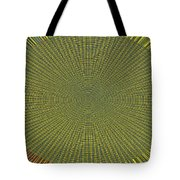Desert Marigold Flowers Abstract #2 Tote Bag