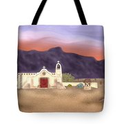 Desert Mission Tote Bag