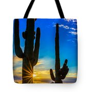 Desert Morning Sunrise Tote Bag