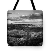 Desert Overlook #2 Bw Tote Bag
