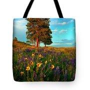Desert Pines Meadow Tote Bag