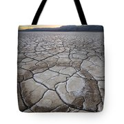 Desert Playa Circle Tote Bag