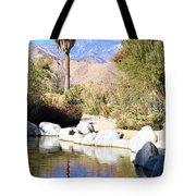 Desert Pond Tote Bag