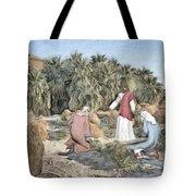 Desert Jesus Tote Bag
