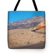 Desert Road Tote Bag