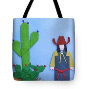 Desert Roadrunner By Mary Ellen Palmeri Tote Bag