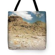 Desert Sand And Rock Tote Bag