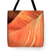 Desert Sandstone Waves Tote Bag