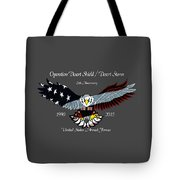 Desert Storm 25th Anniversary Tote Bag