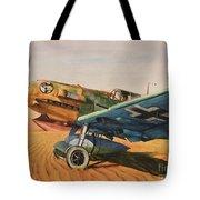 Desert Storm Tote Bag